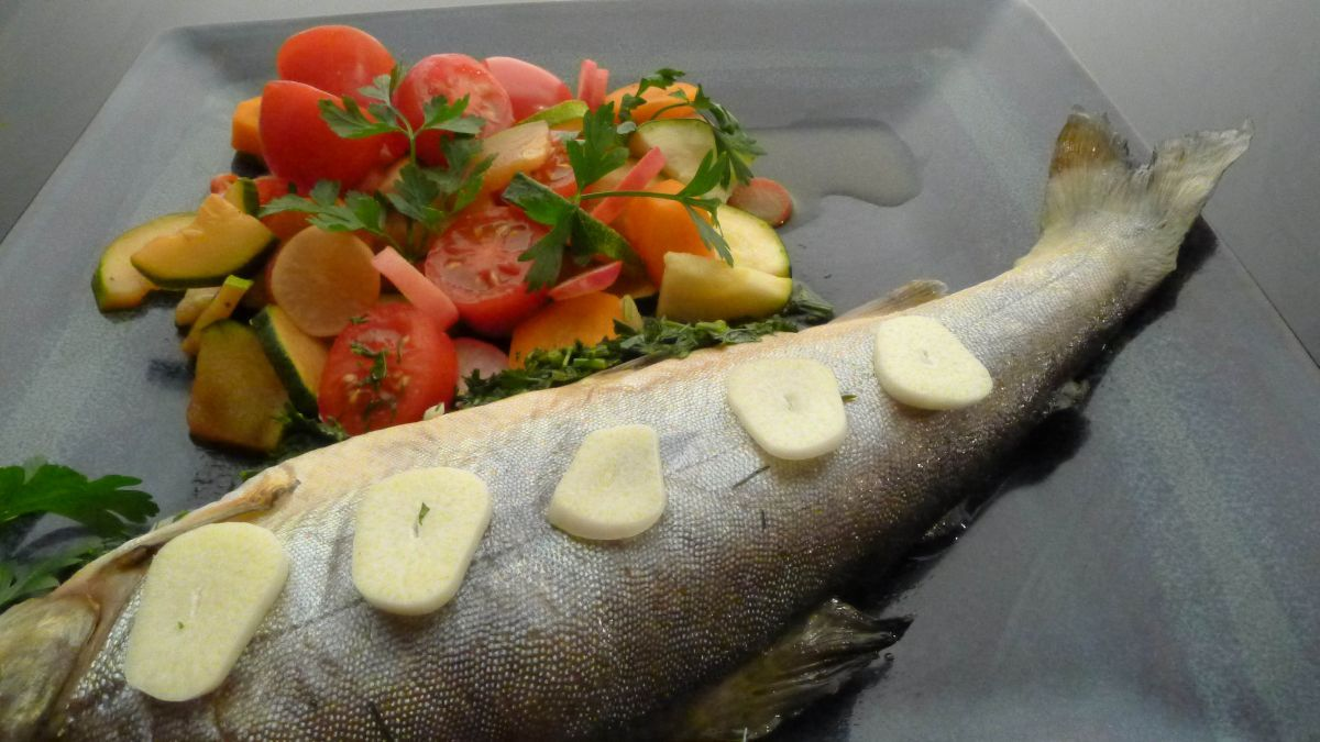 Ryba w papilotach